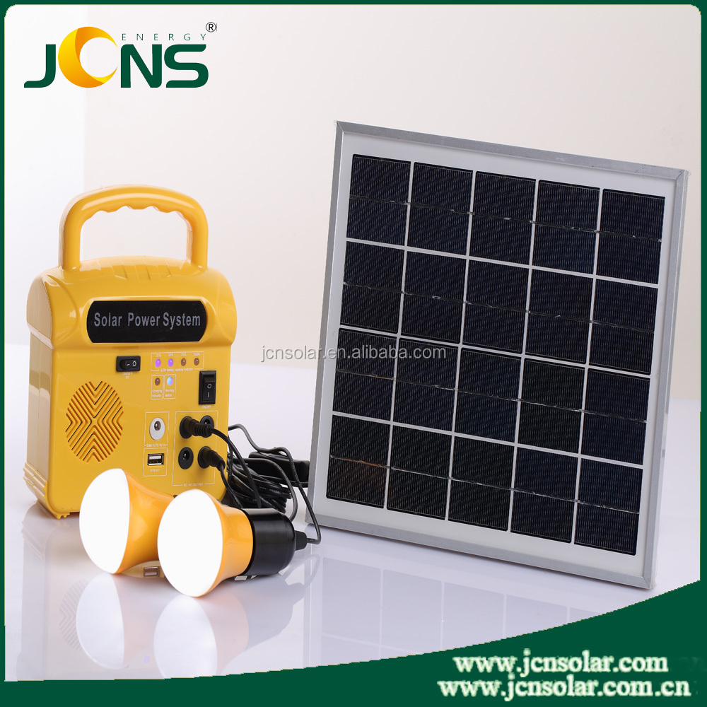 high bright renewable solar stand panel working system for home solar charging kit