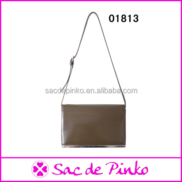 Newly trendy brown pure <strong>leather</strong> lady's handbags