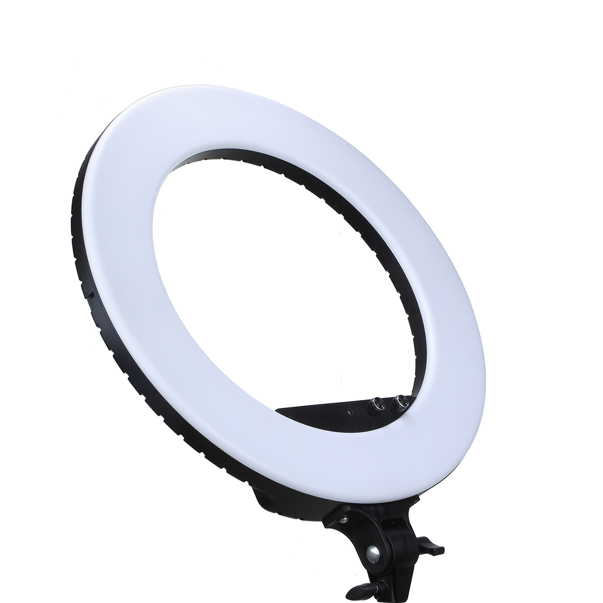"48W NiceFoto18"" 3200-5800K Dimmable Diva LED Ring Light Diffuser mirror Stand Make Up Studio lighting"