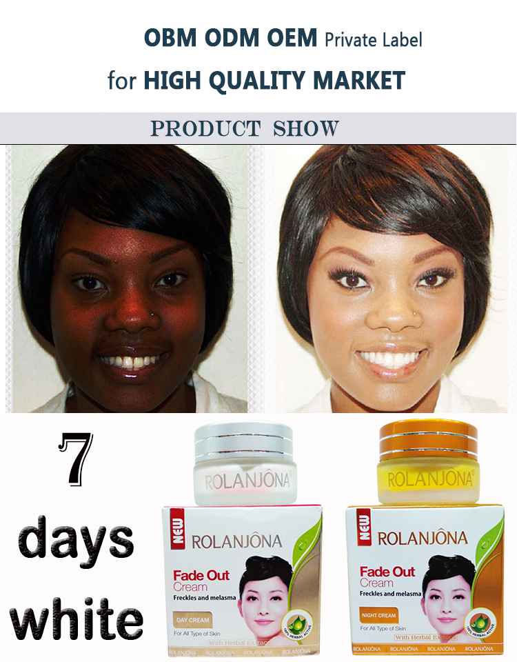 Rolanjona skin anti-wrinkle cream 7 days whitening cream