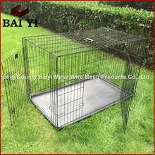Wholesale Foldable Handmade Pet Dog Carrier/Kennel with Plastic Pallet