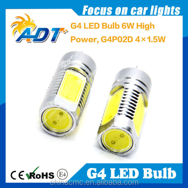 News! 6W G4 LED Light COB Spotlight lamp bulb Home Garden AC DC 12V super white