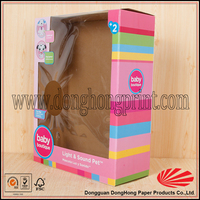 Strong carton corrugated clear glassware packaging box
