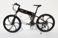 350W motor exercise strong full suspension electric mountain bike