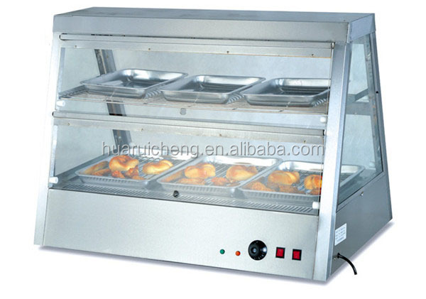 Fast food equipment commercial electric food warmer