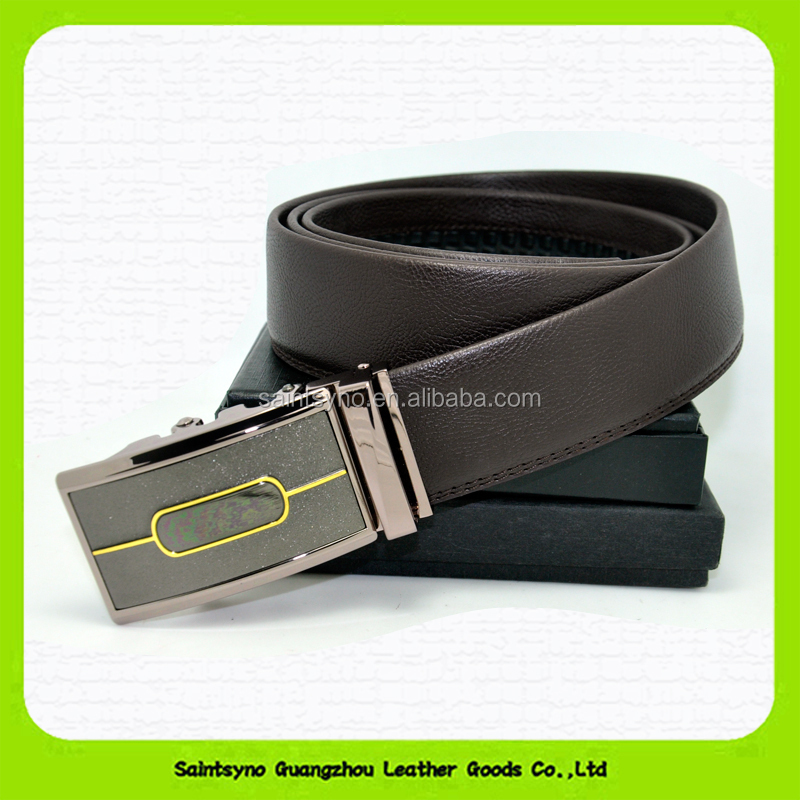 Mens genuine spanish leather belt 15208