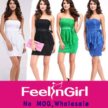 wholesale newest peplum pictures ladies office wear dresses dress