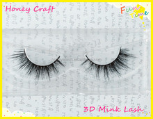 NEW Bare Naked Band 3D mink lashes long lasting curve mink eyelashes private label