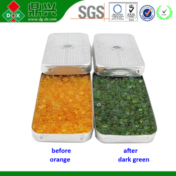 Orange Silica Gel Desiccant Canister 40g Dehumidifier Box