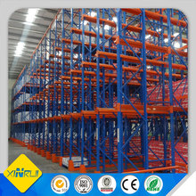 Factory storage customizable shuttle racking for steel drive in rack