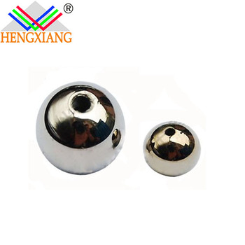 99.999% Germanium Spherical shape germanium granule with aperture germanium metal price