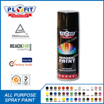 All purpose hand-spray acrylic aerosol spray paint