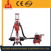Power head well truck mounted KSZ100 water bored pile deep portable water well drilling rig