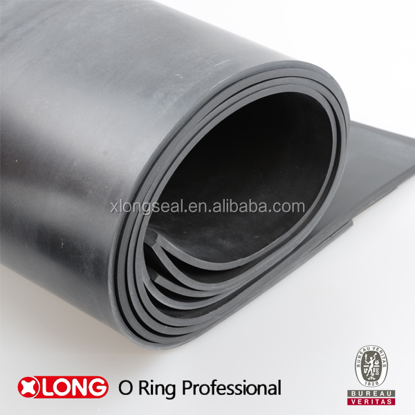 Black high quality rubber soling sheets for shoe