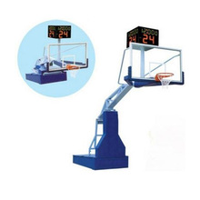 Guanya supply electric hydraulic movable basketball stand