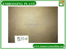 leather embossing plate mould for chrome tanned cow hides to make sofa car leather