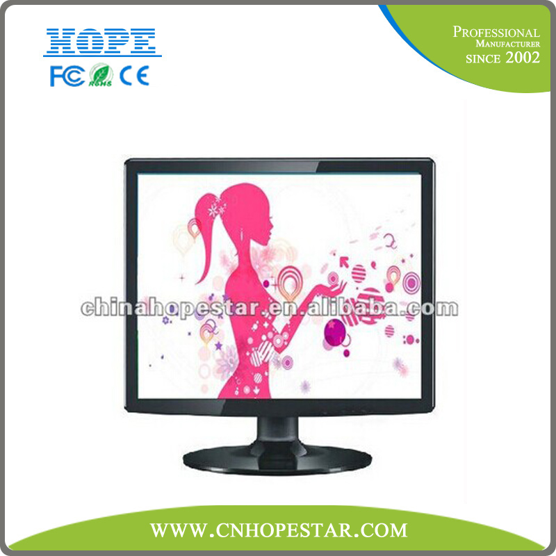 17 inch 16:9 tft lcd monitor with open frame design option