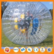 2.6m durable popular snow zorb ball for sale