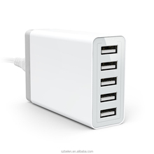 High Quality 5 Port Multi Usb Wall Charger Adapter, 5V 8A Usb Adapter Wall Charger Power Bank