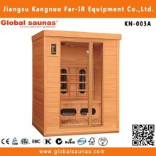 Beauty machine Canadian red cedar fashion nudist sauna room far infrared sauna heater sauna room