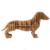 The Nordic individuality creative dachshunds red wine rack The sitting room art furnishing articles table decorations