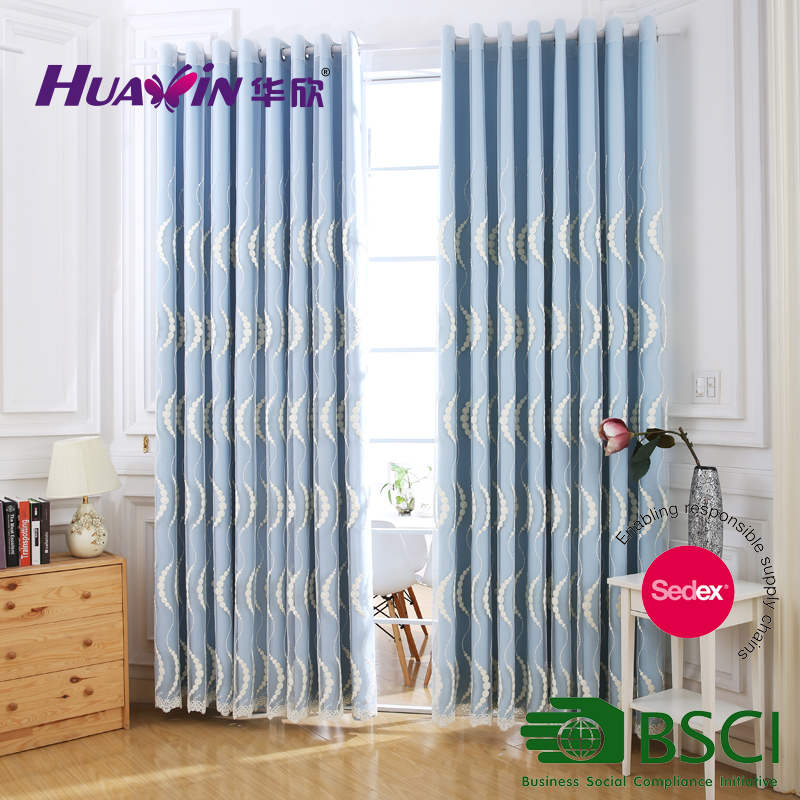 Fancy Collection Embroidery Curtain Eyelet Curtain,Dubai Style Window Curtains
