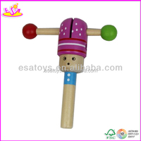 2015 new popular sound chip for toy for kids ,wooden sound maker toy,cute design sound maker toy W08K004-S