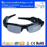 Portable 3GP waterproof hd 720p sunglass camera manual for Longtime 20 hours