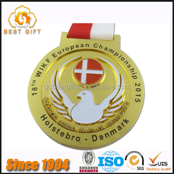 High quality custom design your own medal