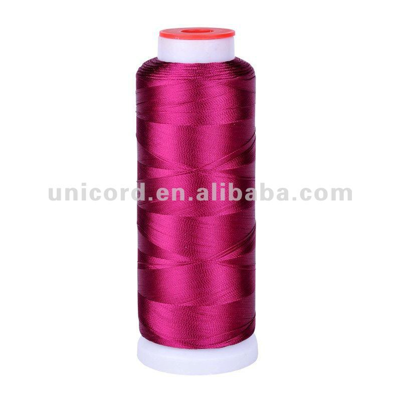 polyester dmc embroidery thread/dmc hand embroidery thread