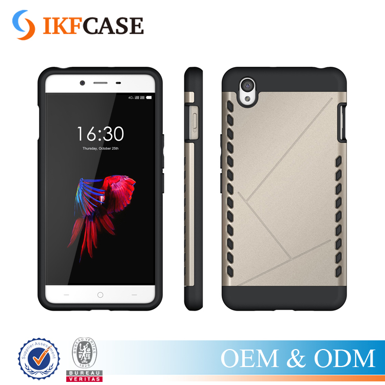 TPU&PC Heavy Duty Armor Shield Case For Oneplus X Protective Skin Double Color Shockproof Case