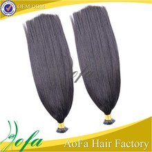 High quality Unprocessed 7a Virgin Malaysian i tip human hair extension