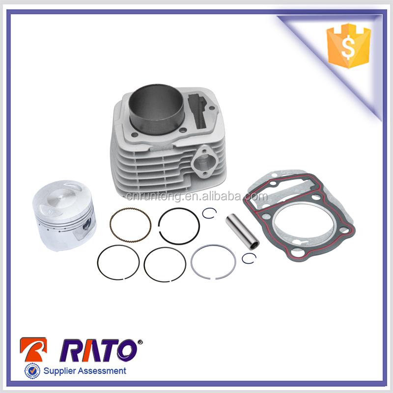 CB250 motorcycle engine cylinder kits with piston and piston ring set