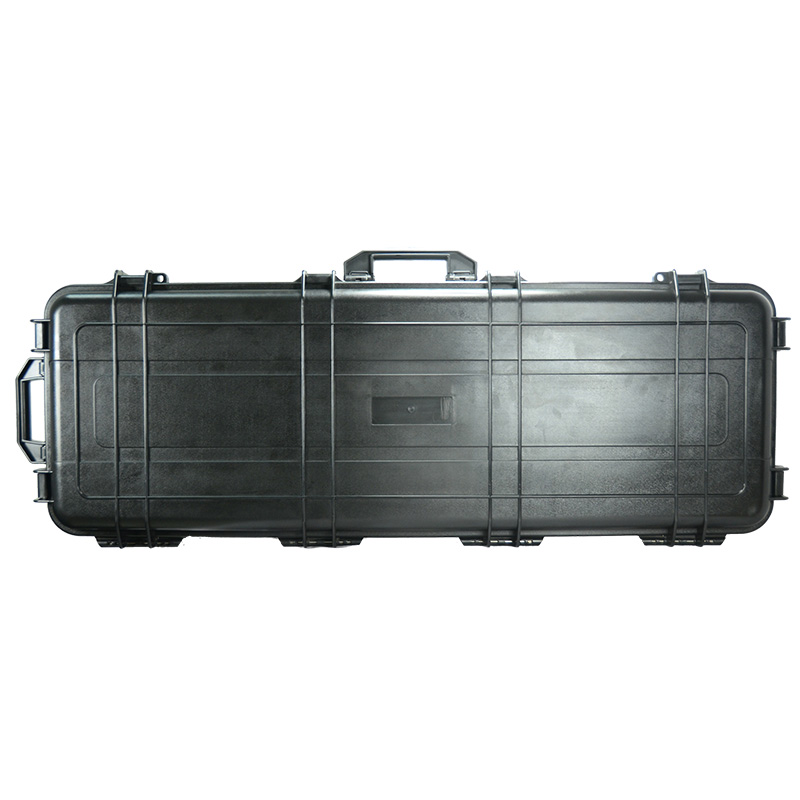 China wholesale 1127x406x155mm size water[proof abs heavy duty hard plastic gun case