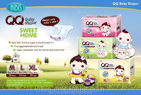 Sweet Sleepy Disposable Baby Diapers_3-DAY Promotional diaper