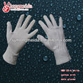white cotton with dotted gloves for working or ceremony,safety and comfortable