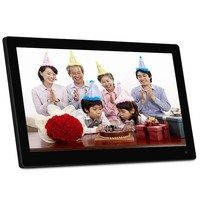Hot! Factory Supply 15.6 Inch Photo Frame Digital with Motion Sensor Auto Play