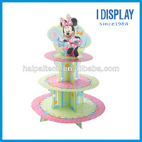 POP Mickey Mouse cardboard cupcake stand display for party