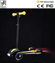 Fire scooter for kid standing electric scooter 3 wheel toy scooter