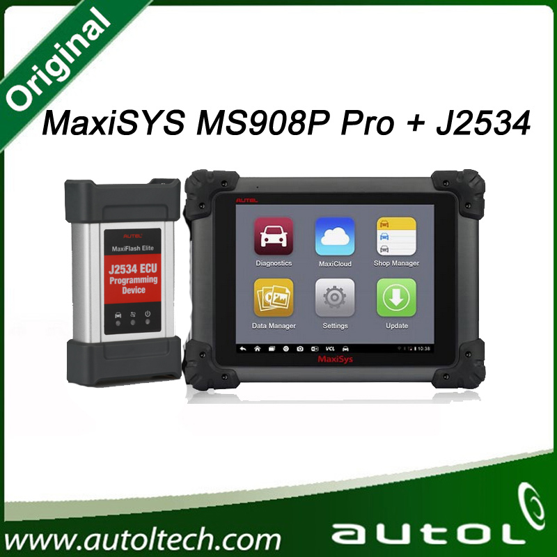2016 Original AUTEL MaxiSys Elite Support J2534 ECU Preprogramming Update From MS908P MS908 PRO
