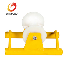 Straight Line Electrical Cable Pulling Rollers With Aluminum Wheel