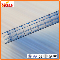 20mm multiwall polycarbonate sheet for greenhouse roofing material