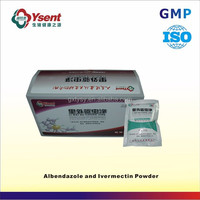 Imported Good Albendazole and Ivermectin Powder Veterinary Medicine for Poultry