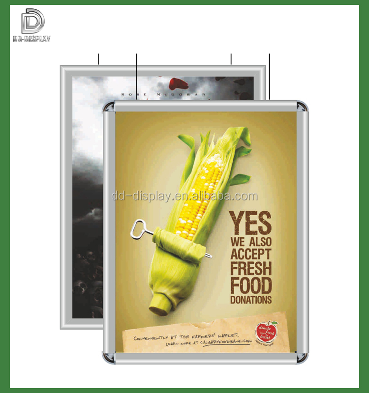 high quality advertising aluminum snap poster frame buy