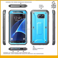 Full Holster Case + Built in Screen Protector For Samsung Galaxy S7