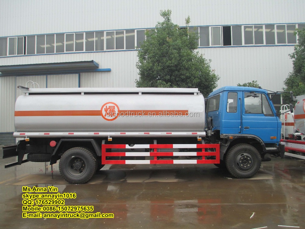 Dongfeng 4*2 fuel truck, fuel transportation vehicle, oil tank