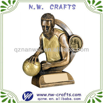 New item basketball player figurine statue trophy awards