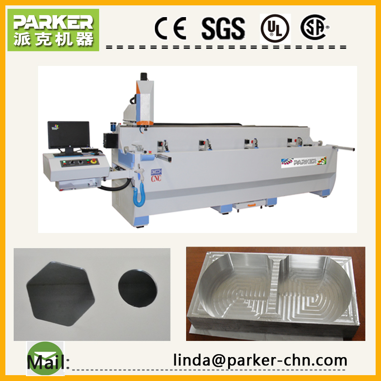 aluminum cnc deep hole drilling machine