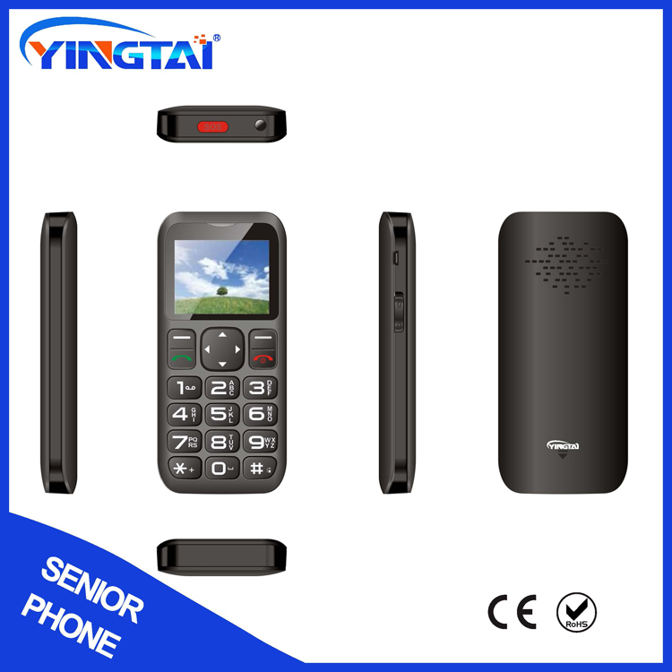 Quad Band No Camera Big Keypad Mobile Phone