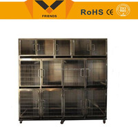 Modular stainless steel dog cage FNZ-DP0001
